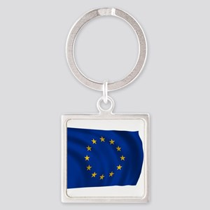 European Union Flag Keychains