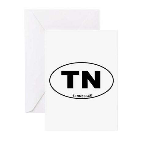Tennessee State Greeting Cards (Pk of 20)
