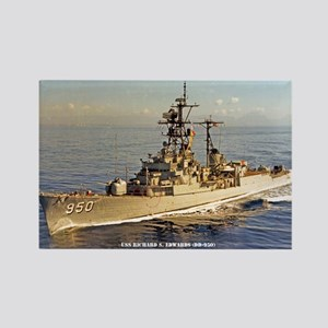 USS RICHARD S. EDWARDS Rectangle Magnet