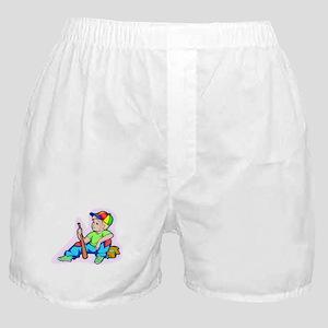 Baseball Kid Boxer Shorts