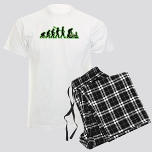 Chess Player Men's Light Pajamas
