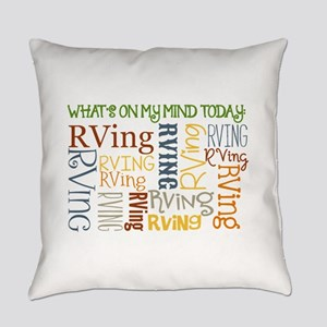 What's On My Mind Today Everyday Pillow