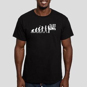 Crossword Puzzle Men's Fitted T-Shirt (dark)