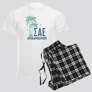 Sigma Alpha Epsilon Palm Tree Men's Light Pajamas