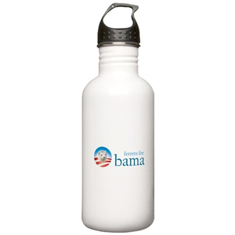 Ferrets for Obama Stainless Water Bottle 1.0L