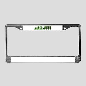 Dominoes License Plate Frame