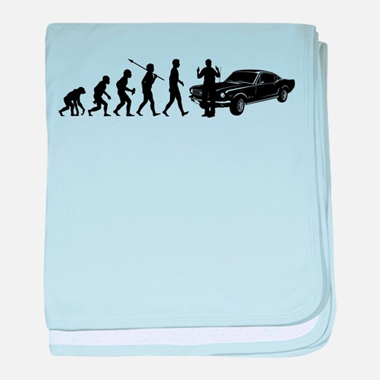 Fast Car Lover baby blanket