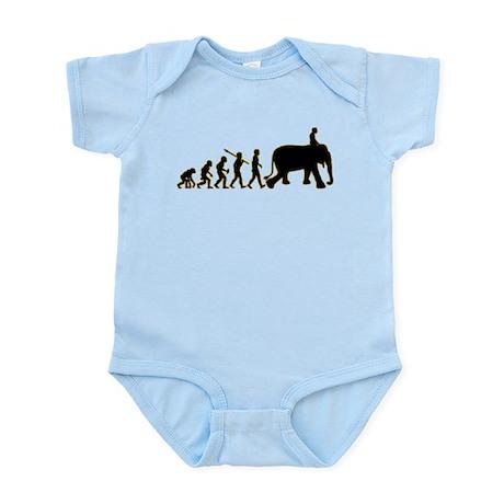 Elephant Riding Infant Bodysuit