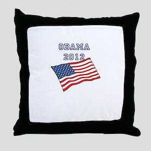 Obama keepsake hats & totes Throw Pillow