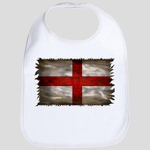 England Flag Baby Bib