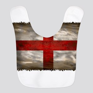 England Flag Polyester Baby Bib