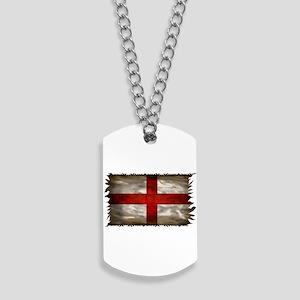 England Flag Dog Tags