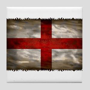 England Flag Tile Coaster