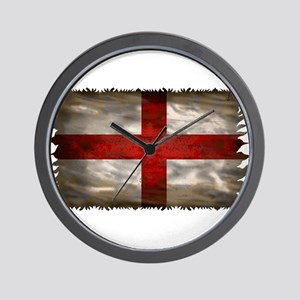England Flag Wall Clock