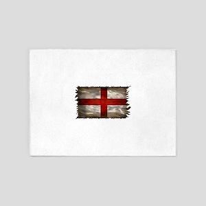England Flag 5'x7'Area Rug