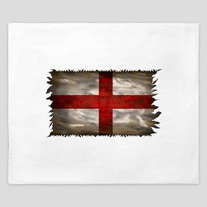England Flag King Duvet
