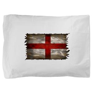England Flag Pillow Sham