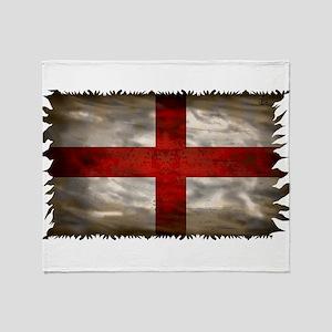 England Flag Throw Blanket