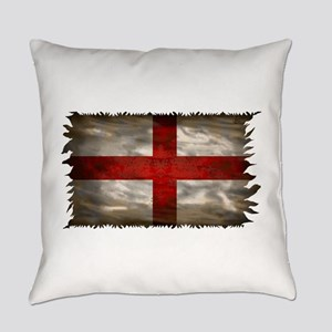 England Flag Everyday Pillow