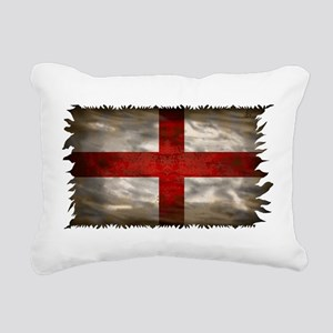 England Flag Rectangular Canvas Pillow