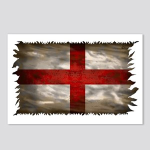 England Flag Postcards (Package of 8)