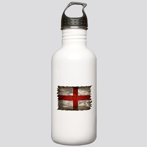 England Flag Stainless Water Bottle 1.0L