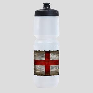 England Flag Sports Bottle