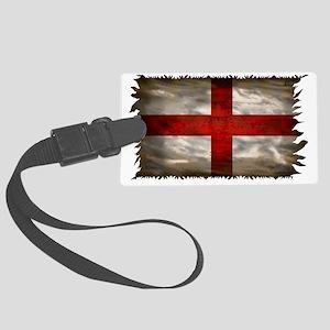 England Flag Large Luggage Tag