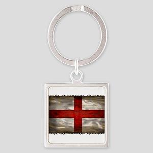 England Flag Keychains