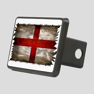 England Flag Rectangular Hitch Cover