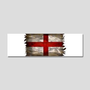 England Flag Car Magnet 10 x 3