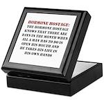 Hormone Hostage Keepsake Box