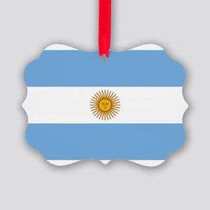 Argentina Picture Ornament