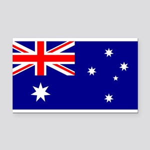 Australia Rectangle Car Magnet