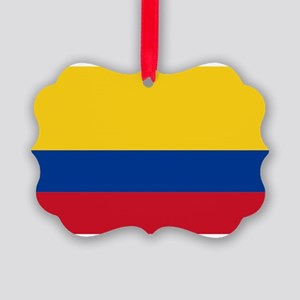 Colombia Picture Ornament
