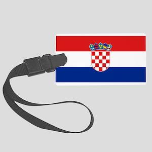 Croatia Large Luggage Tag