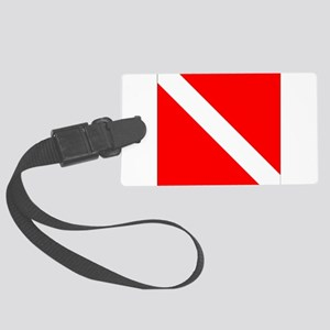 Diver Large Luggage Tag