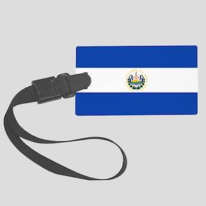 El Salvador Large Luggage Tag
