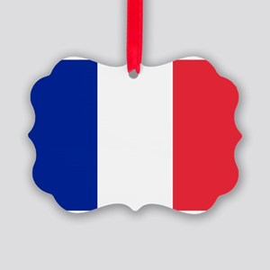 France Picture Ornament