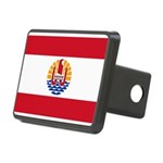 French Polynesia Rectangular Hitch Cover