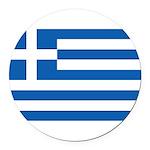 Greece Round Car Magnet