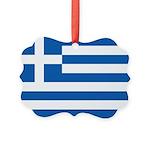 Greece Picture Ornament