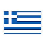 Greece Rectangle Car Magnet