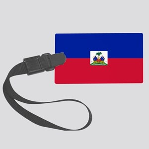 Haiti Large Luggage Tag