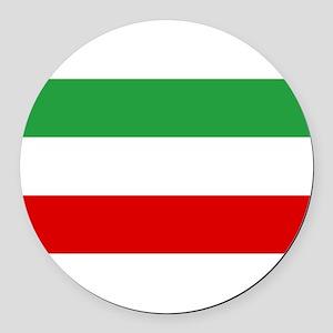 Iran Round Car Magnet