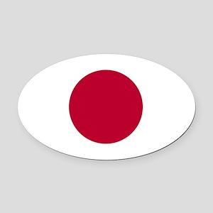 Japan Oval Car Magnet