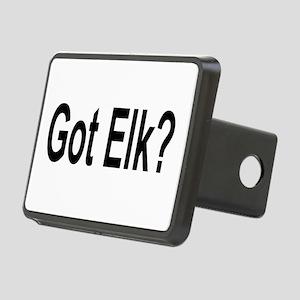 Got Elk? Rectangular Hitch Cover