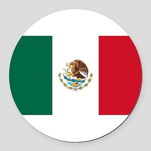 Mexico Round Car Magnet
