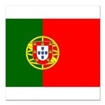 Portugal Square Car Magnet 3