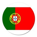 Portugal Round Car Magnet